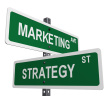 Internet Marketing street signs
